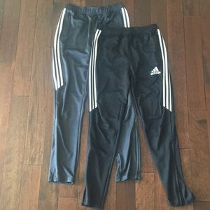 Pair of Boys sz L Adidas track pants